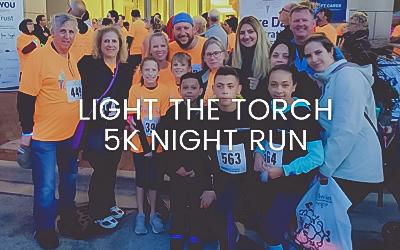 FitzMC Sponsors Light the Torch 5K Night Run Fundraising Event